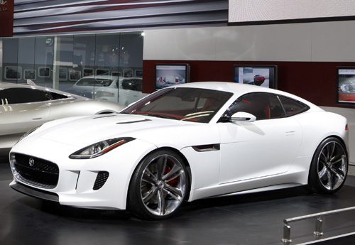 Jaguar F Type Coupe Later This Year